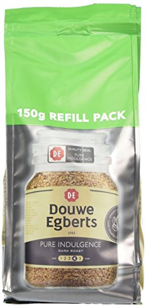 Douwe Egberts Pure Indulgence Instant Coffee Refill 150 g