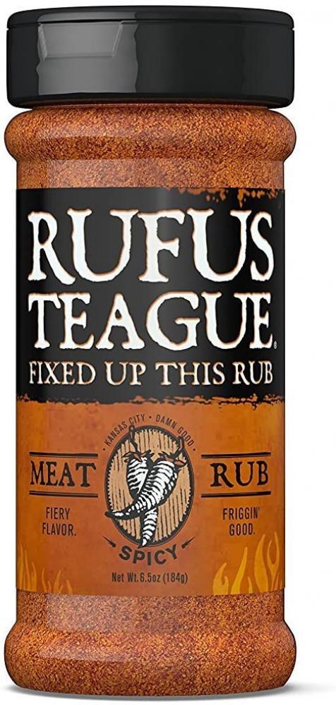 Rufus Teague Meat Rub Spicy 184g