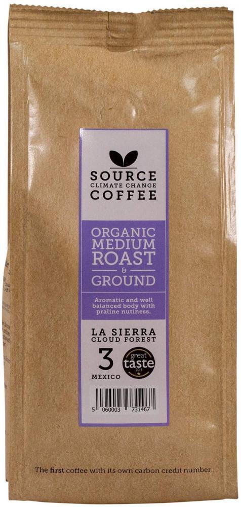 Source Climate Change Coffee Medium Roast Mexico Single Origin Whole Coffee Beans Bag 227g