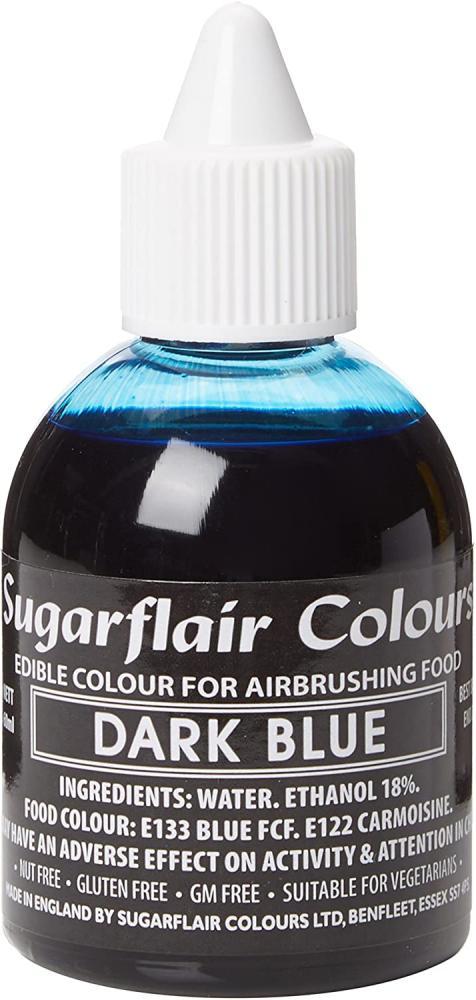 Sugarflair Colours Dark Blue Airbrush Colour 60 ml
