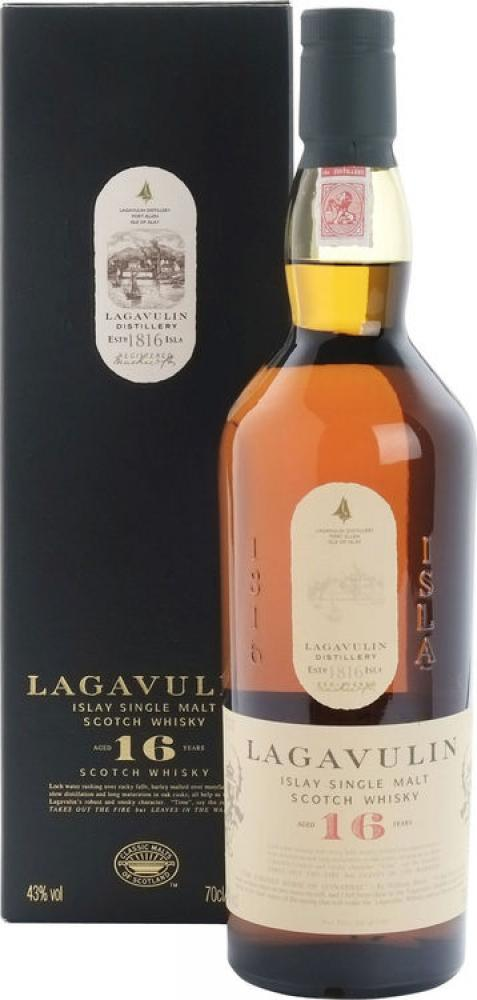 Lagavulin 16 yo - Islay Single Malt Scotch Whisky 70cl DAMAGED BOX