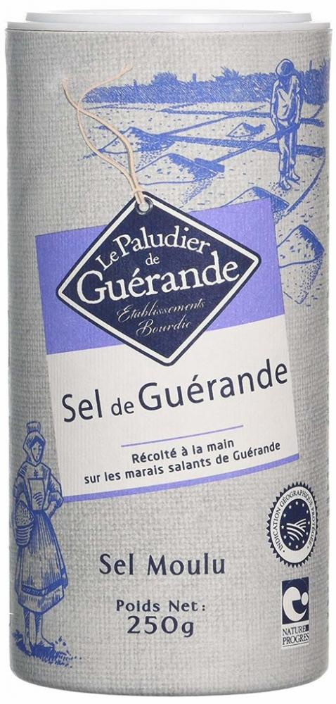 Le Paludier De Guerande Sea Salt In Shaker 250g
