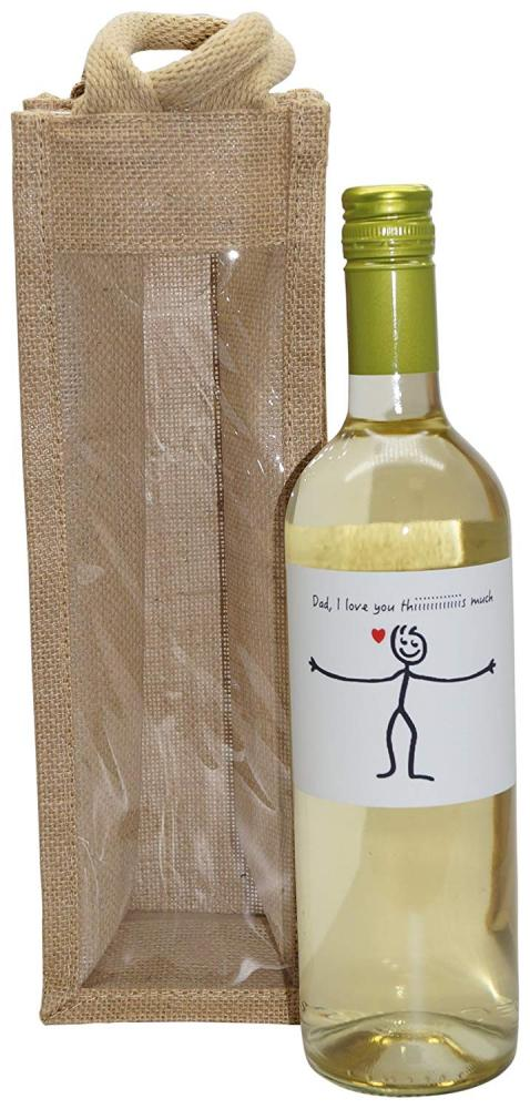 Ukgiftbox Dad I Love You This Much White Wine Gift Set 75cl