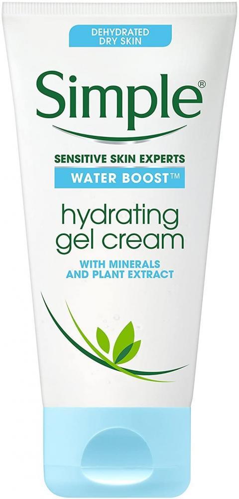 Simple Water Boost Hydrating Gel Cream Face Moisturizer 50ml