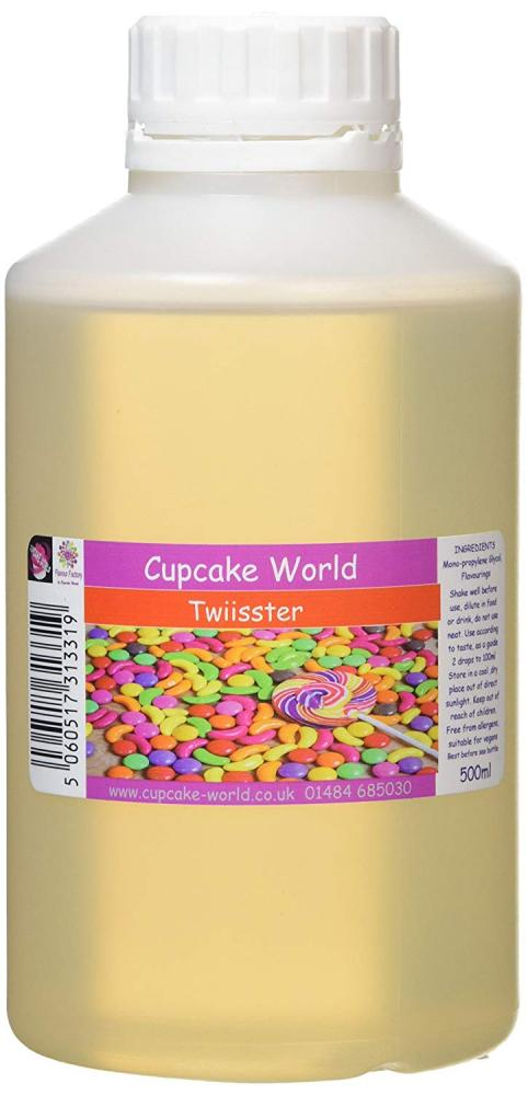 Cupcake World Intense Food Flavouring Twiisster 500 ml