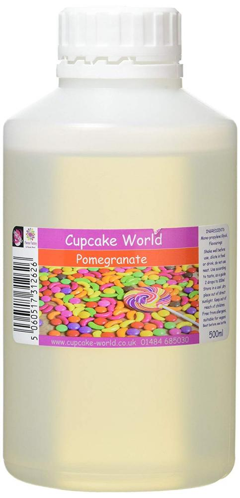 Cupcake World Intense Food FlavouringPomegranate 500ml
