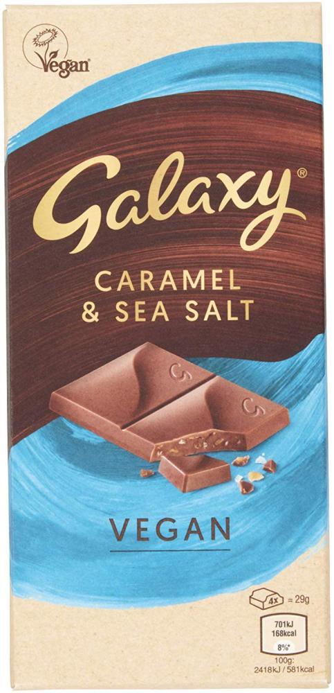 Galaxy Vegan Salted Caramel Chocolate 100 g