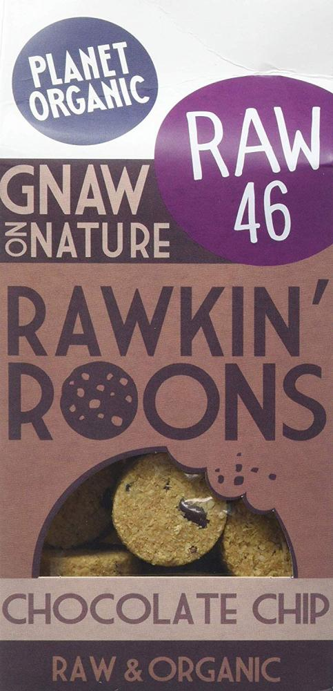 Planet Organic Chocolate Chip Rawkin Roons 90g