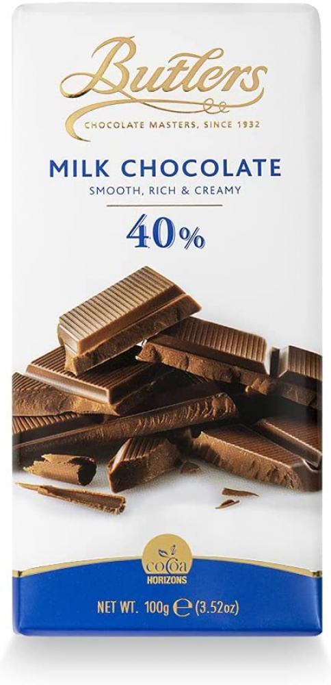 Butlers 40 Percent Milk Chocolate Bar 100g