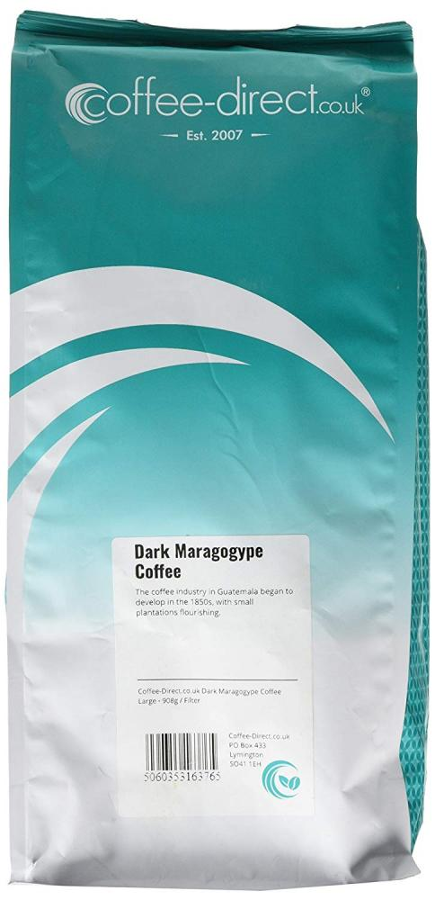 Coffee Direct Dark Maragogype Coffee Filter Grind 908g