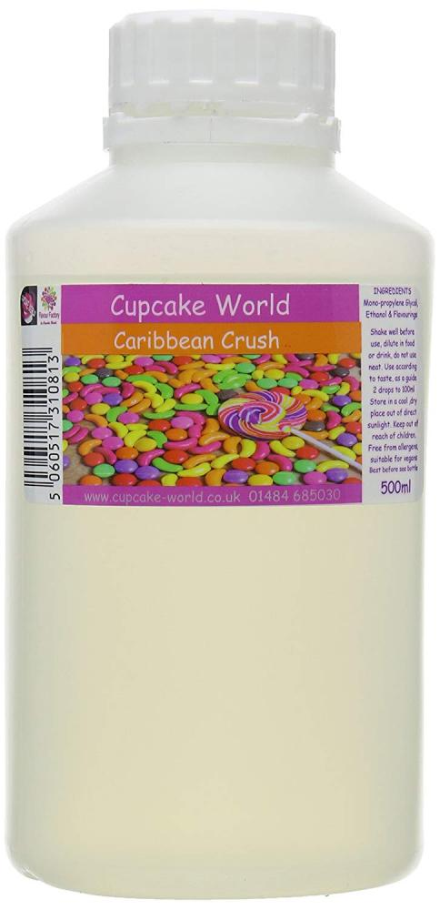Cupcake World Caribbean Crush Intense Food Flavouring 500 ml