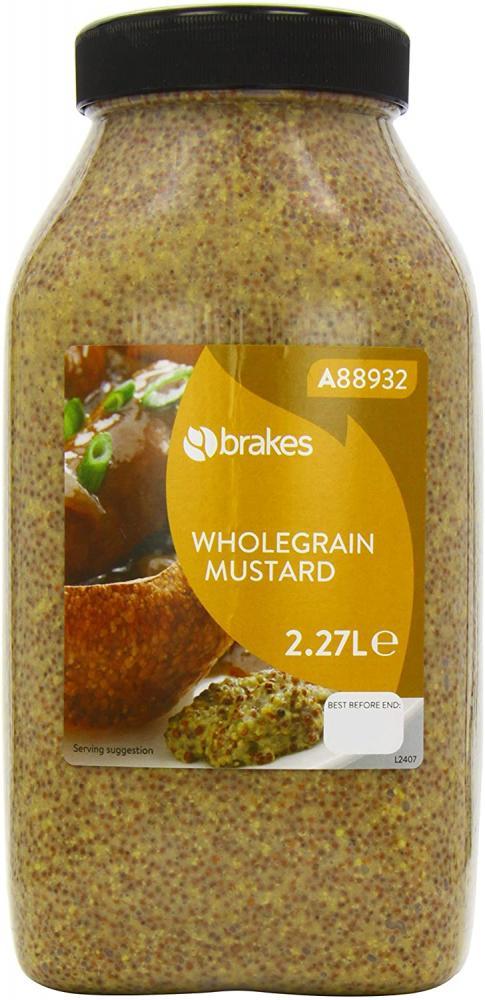 SALE  Brakes Wholegrain Mustard 2.27 Litre