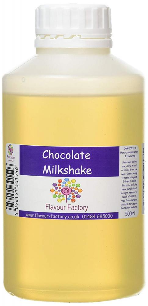 Flavour Factory Intense Food Flavouring Chocolate Milkshake 500ml
