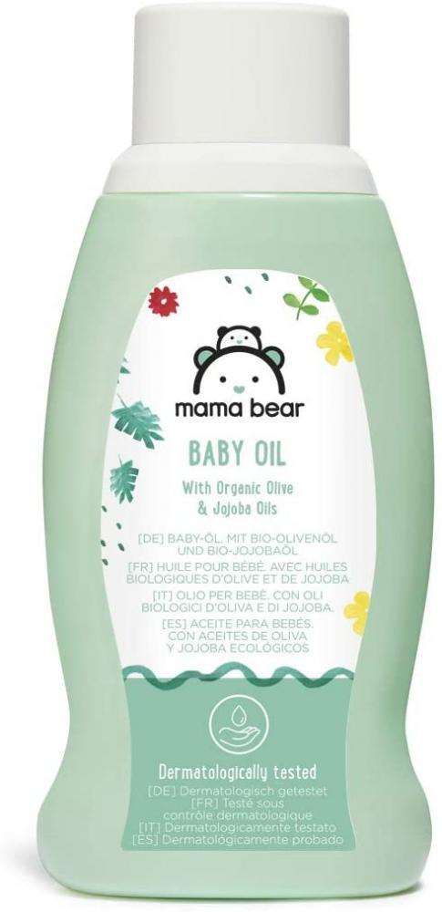 Mama Bear Baby Oil with Organic Olive and Jojoba Oils 250ml