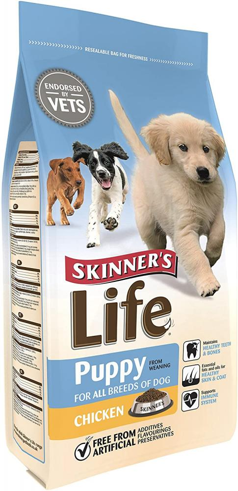 Skinners Life Complete Dry Puppy Food Chicken 2.5kg