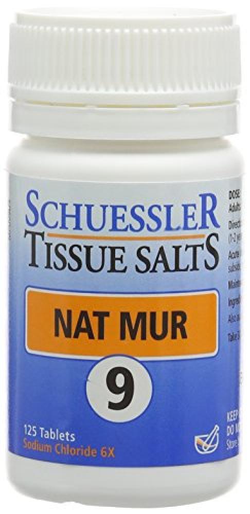 Schuessler Nat Mur Tablets - Pack of 125