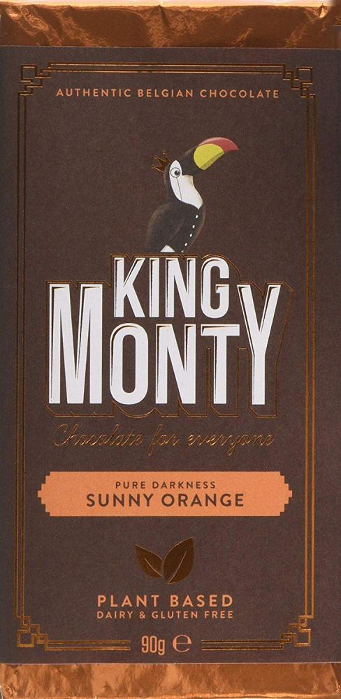 King Monty Sunny Orange Dairy and Gluten Free Bar 90g