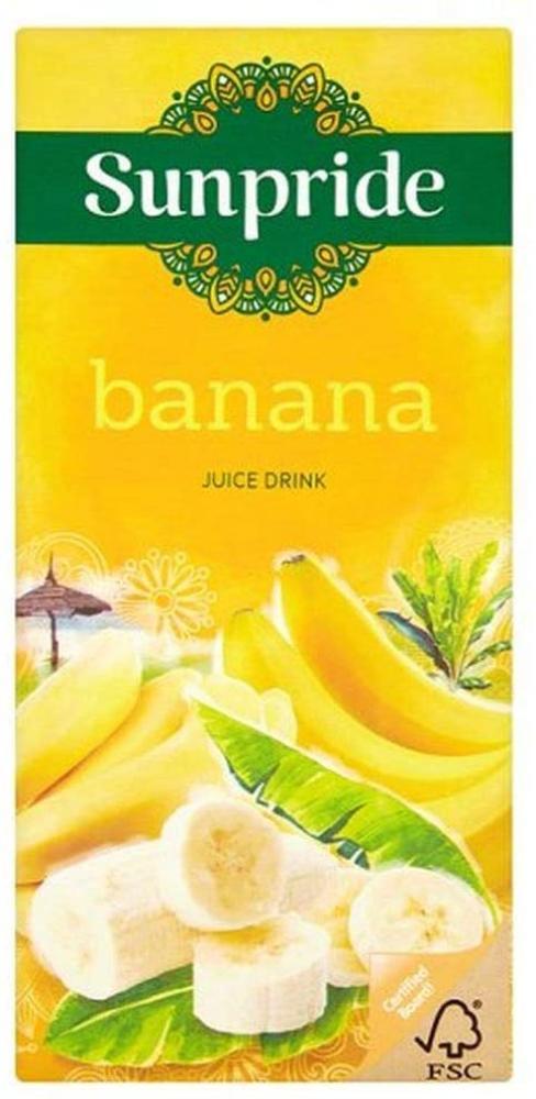 Sunpride Banana Juice Drink 1L
