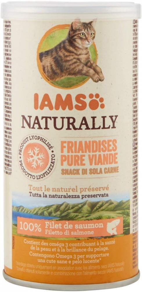 Iams Pure Meat Treats for Cats Salmon 20g