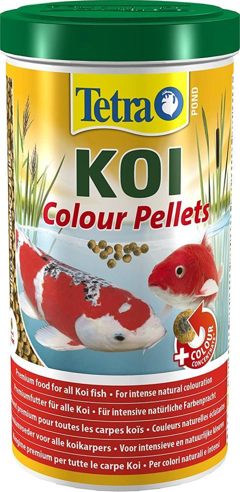 Tetra Pond Koi Colour Pellets Fish Food 280 g