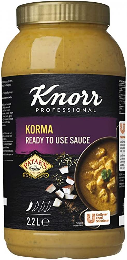 Knorr Korma Ready To Use Sauce 2.2 Litre