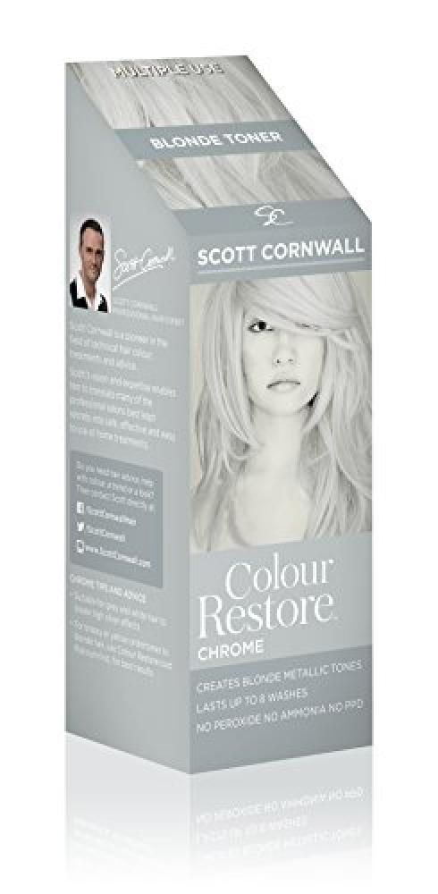 Scott Cornwall Colour Restore Toner Chrome 100 ml