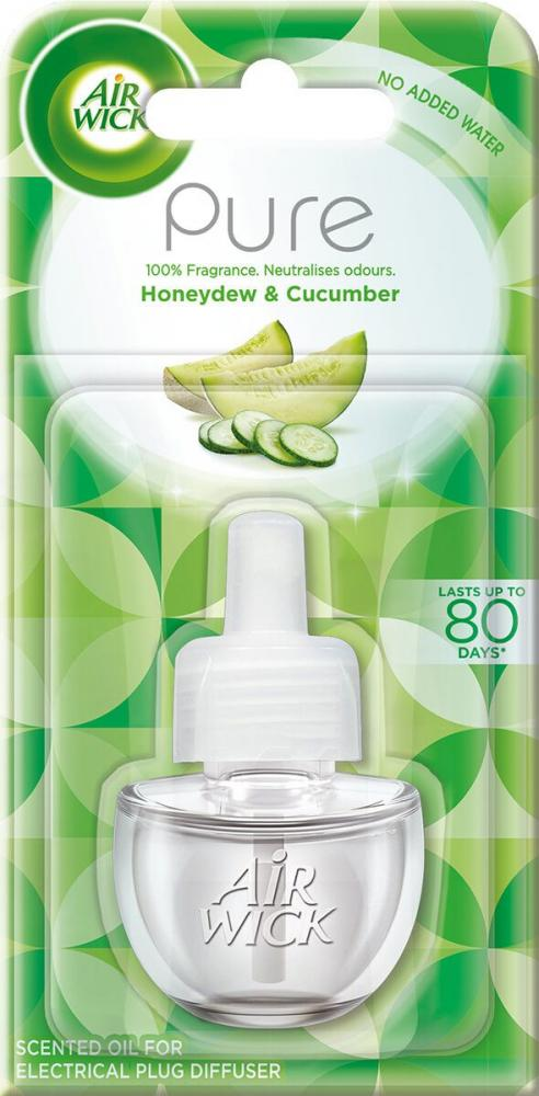 Air Wick Electrical Plug In RefillsHoneydew and Cucumber Scent 19 ml