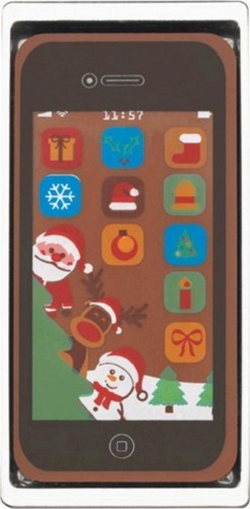 Unbranded Christmas Chocolate Smartphone 40g