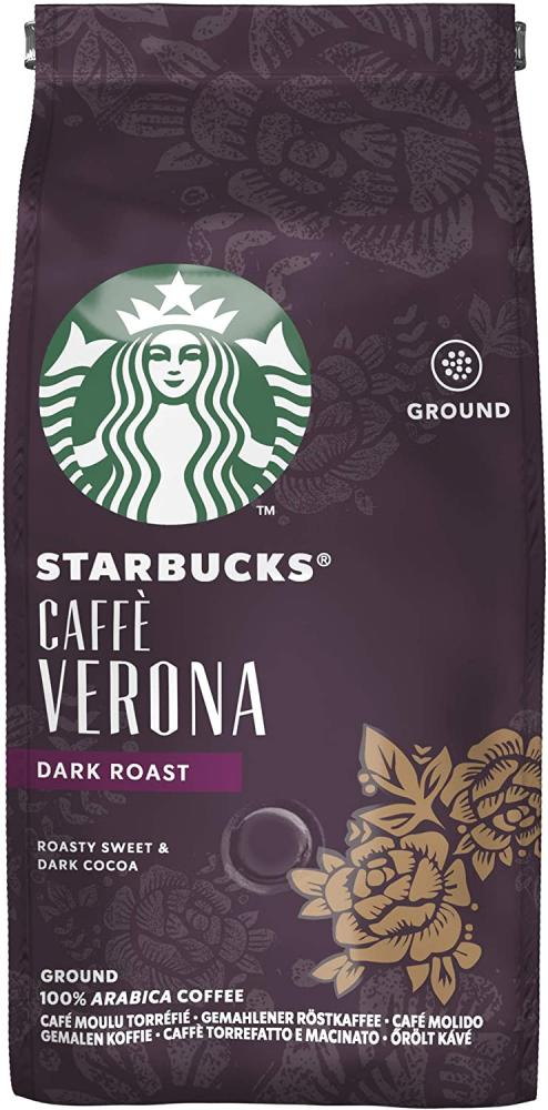 SALE  Starbucks Caffe Verona Dark Roast Ground Coffee 200g