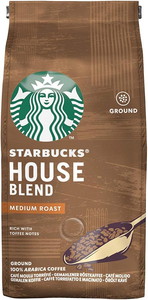Starbucks House Blend Medium Roast Ground Coffee 200g