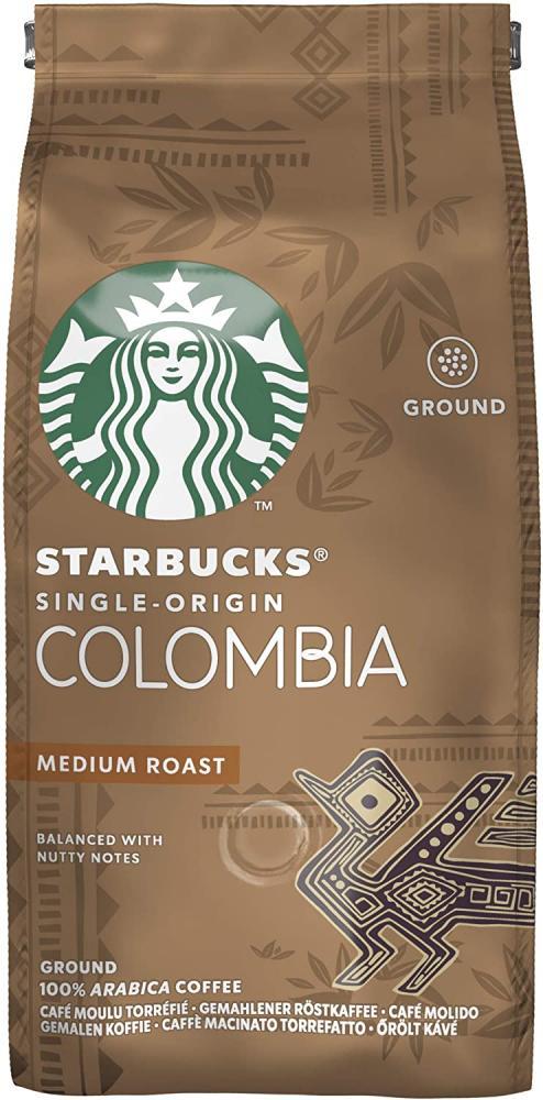 FLASH DEAL  Starbucks Single-Origin Colombia Medium Roast Ground Coffee 200g