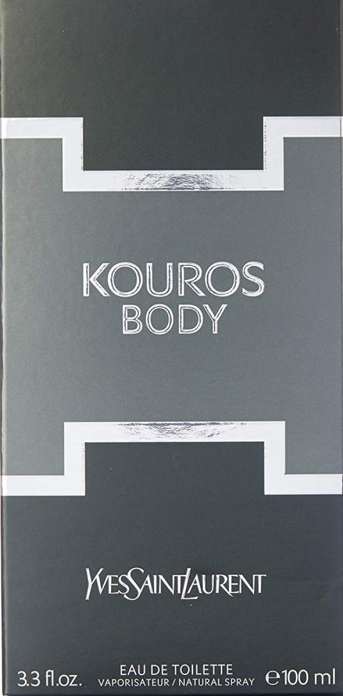 Yves Saint Laurent Body Kouros Eau de Toilette for Him 100 ml