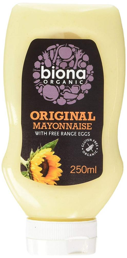 Biona Organic Original Squeezy Mayonnaise 250 ml