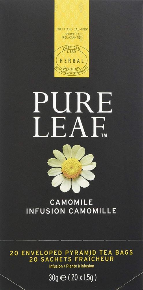 Pure Leaf Camomile Enveloped Pyramid Bag 30g