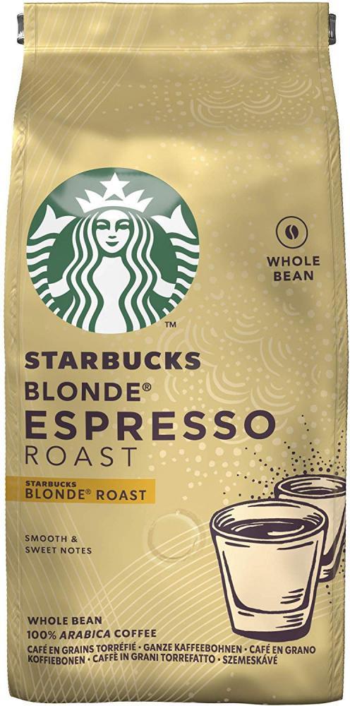 Starbucks Espresso Roast Blonde Roast Whole Bean Coffee 200 g