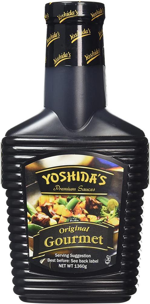Yoshidas Gourmet Sauce Bottle Brown 1360g