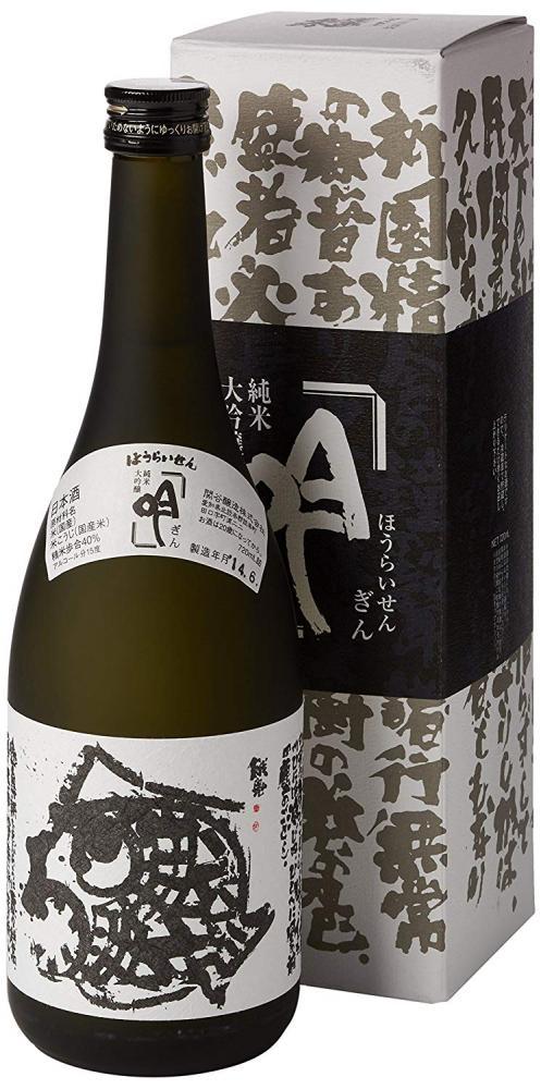 Sekiya Jozo Houraisen Junmai Daiginjo Gin 72cl