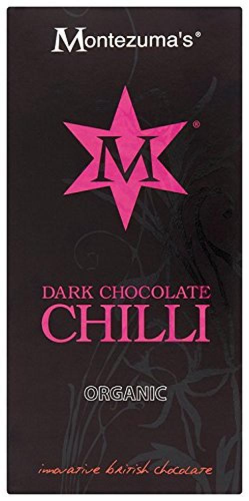 Montezumas Dark Chocolate Chilli Organic 100 g