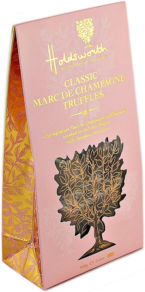 Holdsworth Chocolates Marc De Champagne Truffles 100g