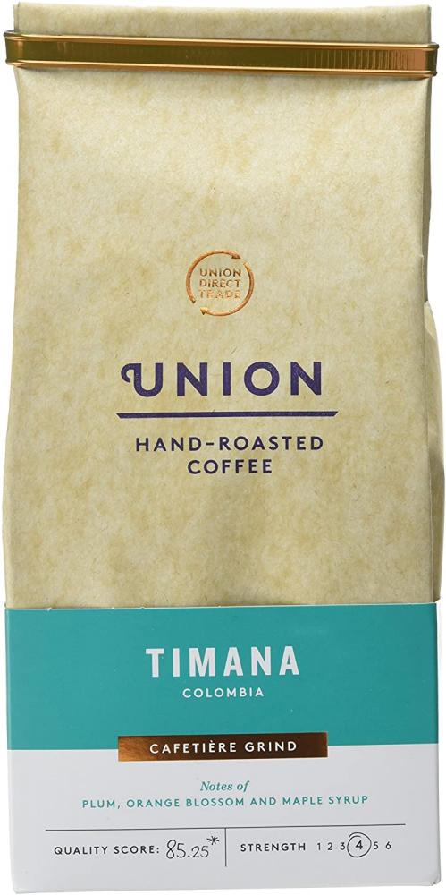 Union Hand Roasted Coffee Timana Colombia Ground Coffee 200g