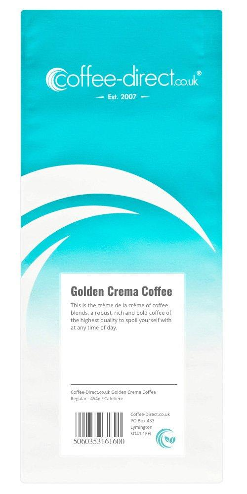 Coffee Direct Cafetiere Grind Golden Cream Coffee 454g