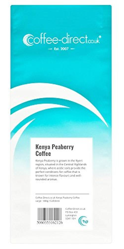 Coffee Direct Cafetiere Grind Kenya Peaberry Coffee 908g