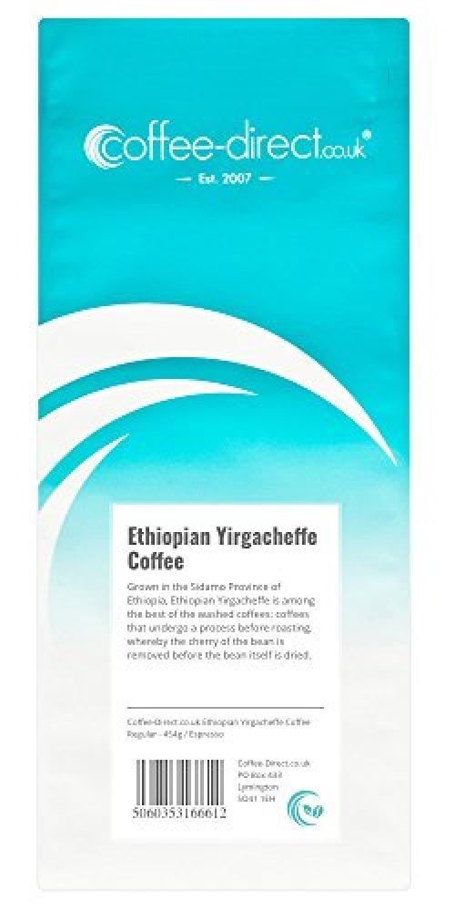 Coffee Direct Ethiopian Yirgacheffe 454g