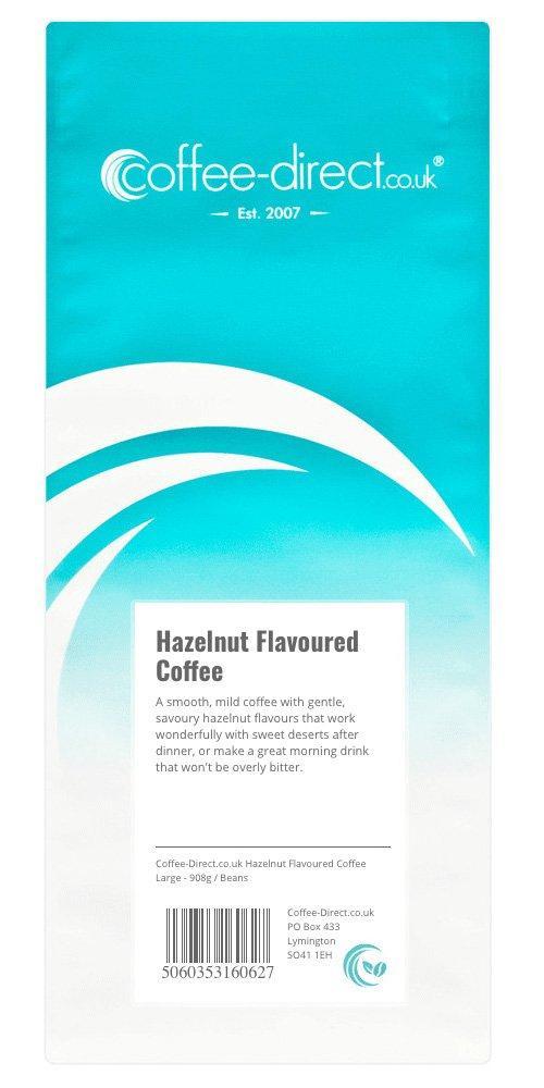 SALE  Coffee Direct Hazelnut Coffee Beans 908g