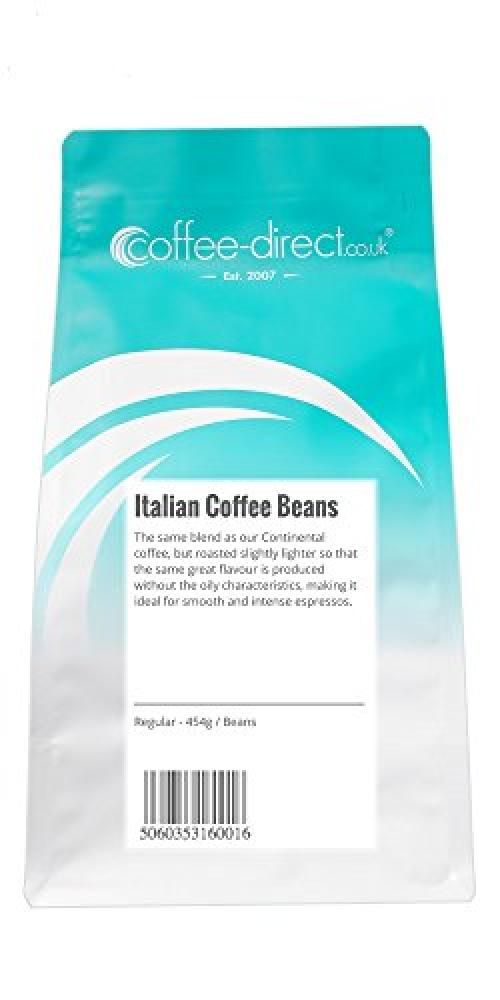 Coffee Direct Italian Coffee Beans 454 g