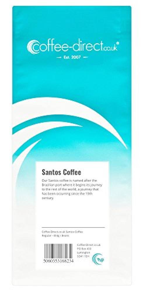 Coffee Direct Santos Coffee Beans 454g