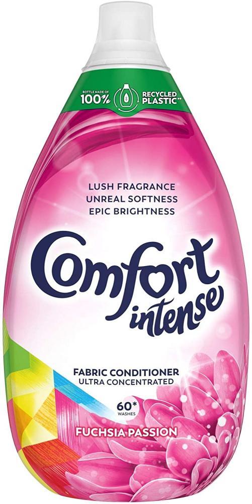 Comfort Intense Fuchsia Passion Ultra Concentrated Fabric Conditioner 900 ml