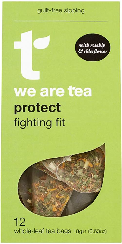 Tea Retail Protect with Echinacea and Rosehip 12 Bags
