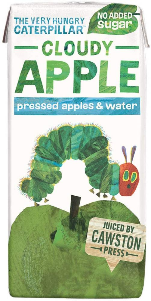 Cawston Press The Very Hungry Caterpillar Fruit Water Kids Drink Pressed Apple Flavoured Water 200ml