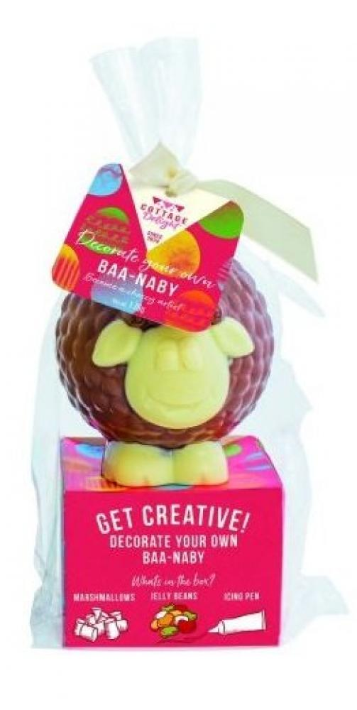 Cottage Delight Decorate Your Own Baa Naby Milk Chocolate 170g